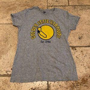NBA Tops - Golden State Warriors T - Shirt